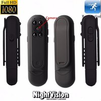 Wholesale Police Recorders - 1080P Full HD Mini Hidden Pocket Meeting Pen Camera Wearable Police Security Camcorder Night Vision Voice Audio Recorder Mini DV Camcorder