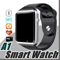 Wholesale Tf Card F - DHL Smart Watch Bluetooth DZ09 GT08 U8 M26 V8 Q50 Touch Screen Smartwatch Support SIM TF Card Smart Watches for Smartphone with Package F-BS