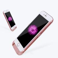 samsung galaxy note için pil yuvası toptan satış-2016 Güç Bankası Kılıf Cep Telefonu harici pil kutusu Samsung Galaxy Not için 5 S7 S6 kenar Iphone 7 6 s artı