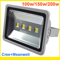Wholesale High Powered Led Floodlight - Led Canopy Light Led Gas Station Light 200W Led Floodlights ip65 Waterproof Warranty 3 Years High Power Outdoor Waterproof Warm Cold White