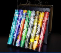 Wholesale Wholesale Shisha Stick - E ShiSha Hookah Pipe Pen Disposable Electronic Cigarette Fruit Juice E Cig Stick Shisha Time 500 Puffs DHL FREE