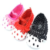 Wholesale Hot Pink Mary Jane Shoes - Girls Toddler First Walkers Soft Sole Hot Mary Jane Baby Shoes HOT SALE