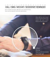 Wholesale Touch Screen Wrist Band Watch - Smart Sport Watch,Touch Screen Smart Bracelet Sport Pedometer Band Sleep Heart Rate Tracker IP67 waterproof Blood Oxygen Monitor BAND