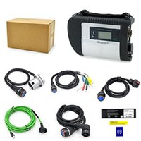 Wholesale Mb Star Diagnosis System - 2017 New SD Connect MB Star C4 with WIFI MB SD Connect compact 4 diagnosis multiplexer with full set cables without software