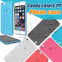 Wholesale Cute Phones For Sale - Phone For Iphone6 Plus Sales Cute Candy Colors PP For Apple Iphone 6 6S 4.7 Inch Fashion Hard Back Case