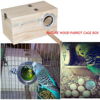 Wholesale Wooden Parrot Cages - Wooden Bird Parrot Swing Stand Cage Colorful Hanging Toys For Cockatiel Budgie