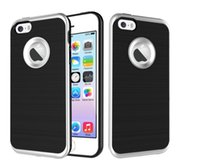 Case Cover all'ingrosso ibrida robusta antiurto posteriore dura per iPhone 5 5S SE 6 6S più