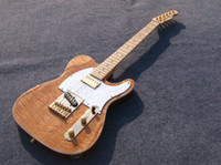 Wholesale Mahogany Guitar Tele - Wholesale Guitar Factory High Quality Telecaster Guitar Maple Fingerboard Ameican standard natural color tele Electric Guitar Free Shipping