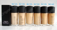 Wholesale fix fluid foundation for sale - Group buy Studio Fix fluid Foundation Makeup Liquid Foundation NC Colors Found De Teint Ml