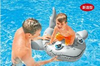 Baby Swimming Boat Inflável Seat Boat Shark Water Swim Toys Piscina Swiming Float Swimming Pool Beach Toys
