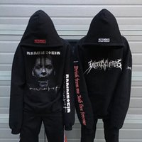 Wholesale Black Zombie - High Quality New Best Version Oversized Zombie Einstein German Chariot Men Hoodie Sweatshirts S-XL