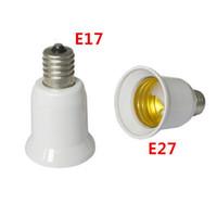 Wholesale e17 adapter for sale - Group buy 10pcs E17 to E27 LED Intermediate Base to Standard Base Bulb Lamp Socket Adapters