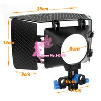 Foto Studio Zubehör Objektivdeckel DSLR Movie Kit Matte Box Mattebox Für <b>15mm Rail Rod Support System</b> Videokameras 5D2 60D