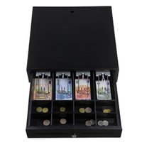 Wholesale GS A Cash Drawer GSAN new product bills coins RJ11 matal POS cash drawer