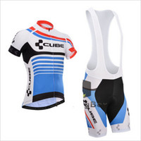 Wholesale Racing Bike Cube - Pro Cube Team Jersey Cycling Clothing Ropa Ciclismo Racing Short Sleeve Cycling Jerseys Bike Cycling Jerseys Mountain Bicycle bike suit