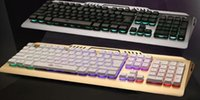 Wholesale Luminous Backlit Keyboard - TL100 wired gaming keyboard backlit mechanical keyboard feel USB cable suspended luminous computer keyboard mouse computer keyboard