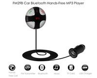 Wholesale Car Charger Dc 5v 2a - Car Bluetooth Charger 5V 2A USB Charging Output Hands-Free FM Transmitter Adjustable Angle Digital LED Display FM29B DC 12 - 24V