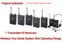 Wholesale Takstar Tour Guide System - 2016 new Takstar UHF-938 Professional UHF Wireless Tour Guide System for Tour Guiding Teaching Travel Field1 Transmitter 6 Receivers