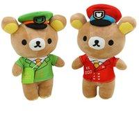 Wholesale Rilakkuma Bear Plush Doll - 21cm Soft Plush doll Toy rilakkuma Stuffed toy bears Birthday Gift Babybear Children's Day present Valentine Gift
