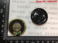 Wholesale Speaker 1w - Wholesale- 1PCS Speaker small speakers 8 Europe 1 watt 1W 8R diameter 36MM 3.6CM thick 5MM solar film