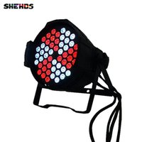 Wholesale 54 Led Par Lights - Aluminum Alloy Led Par 54x9W RGB 3in1 LED Par Can for Party KTV Led Par Light DMX Stage Lights Business Lights DJ Lamp 54*9W