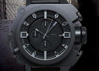 Wholesale Knight Pin - The Dark Knight Rises Limited Edition DZWB0001 DZ4243 Black Silicone Men Sports Watches Blue light Men's Watch