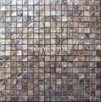 Wholesale Subway brick tiles mother of pearl tile new arrvial kitchen backsplash bathroom wall dyed black shell mosaic shell tiles