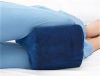 Wholesale Nerves Legs - Knee Pillow Sciatic Nerve Pain Relief Memory Cotton Knee Pillow Wedge Shaped Legs Pillow Rebound Effect Nursing Cushion Pregnant Woman