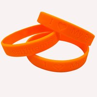 Wholesale Portable Armrest - Creative Bracelets I Love My Father Thailand King Bracelet For Men And Women Universal Silicone Wristband Portable 0 38gd B R