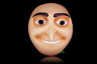 Wholesale Despicable Gru - The Movie Despicable Me Hero Gru Resin Mask Full Face Masks Costume And Lovely For Children Gift Or Halloween