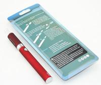 Wholesale China E Cig Kits - EVOD MT3 coils e Vod Vape Pen Kit E-Cig 1.6ml MT3 Clearomizer Ego e Cigarette Vapes Blister kit china direct
