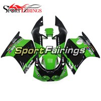 Wholesale 1989 Ninja - Full Fairings For Kawasaki ZXR250 89 90 Year 1989 - 1990 ABS Plastic Motorcycle Fairing Kit Cowling Energy Green Body Kit New