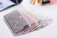 Wholesale Line Luxury Heart - Polka Dot Glitter Bling Soft Acrylic TPU Case Love Heart Star Line Clear Crystal Cell phone For Iphone SE 5 5S 6 PLUS 6S 4.7 5.5 Skin Luxury