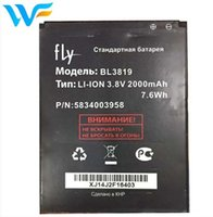 Wholesale mobile phone free delivery for sale - Group buy 100 Brand new High Quality mAh BL3819 mobile phone battery For FLY IQ4514 Accumulator free DHL fast delivery