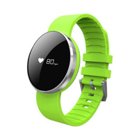 Wholesale Mirror Fitness - UW1 Bluetooth 4.0 Smart Bracelet Mirror Screen Band Heart Rate Monitor IP67 Waterproof Call Reminder For IPHONE7 6,SAMSUNG Android iOS GIFT