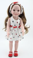"""Wholesale American Girl Blonde - 2016 NEW 25 Models 18"""" Blonde Brown Hair 45cm Girl Doll Realistic Baby Toys Birthday Gift for Girls As American Girl Dolls"""