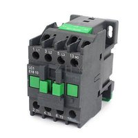 Wholesale 36v Ac Motors - Wholesale-AC Contactor Motor Starter Relay 3-Phase Pole 1NO 36V Coil Voltage CJX2-1810