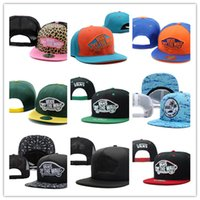 Wholesale Cheap New Fitted Caps - Top Quality Hot selling snapbacks hats cheap fashion Van cap adjustable new models snapback hat street wear cap