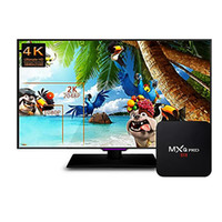 Novo MXQ PRO Google Android 5.1 / 6.0 IPTV Smart TV caixas S905x / S905 1GB + 8GB 2.4G WIFI 4K 3D