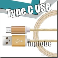 Wholesale Macbook Pro Aluminum - 1.5M Nylon Braided Aluminum USB 3.0 Type-C Fast Charger Cable Devices for MacBook Chomebook letv le max pro Oneplus