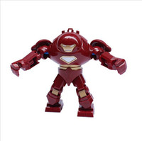Grosses soldes! Decool figure 0181 Super Heroes The Avengers iron man hulk buster Figurines d'action Robes de construction jouets