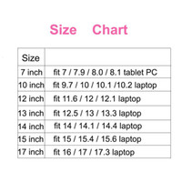 """Wholesale Mini Laptop Hp - New Arrival 7""""Tablet Case Universal 13 12 15 14 17 10 Inch Sleeve Laptop Bags Casual Case 8"""" Tablet Cover For Mini PC Huawei HP"""