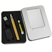 Wholesale Ego Ce5 Kit Batteries - CE5 aluminum case Kit gift box package for single ego ce5 and eGo Battery electronic cigarette starter kit