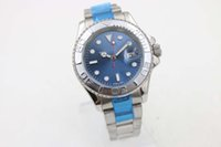 Wholesale Disk 19 - 2017 professional 116622 masters fashion luxury brand automatic stainless steel GMT motion blue disk watch free delivery