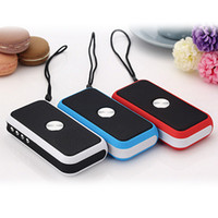 Wholesale Ds Mini Speaker - DaNiu DS-716 Mini Wireless Bluetooth Speaker Music Center Portable Speaker Support TF card 3 colors Support Phone Charging