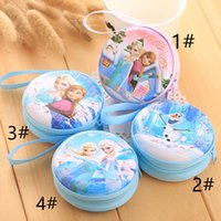 Wholesale Wholesale Discount Gift Bags - Special offer 2016 discount snow Romance Series cute, small zero purse headset Coin Bag Christmas gift package.