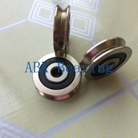 Wholesale Roller Track Guide - Wholesale- TV0630 TV0630VV V-Groove pulley ball bearings 6*30*8 mm Track guide roller bearing