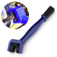 Wholesale Bike Brush - Cycling Motorcycle Bicycle Bike Chain Crankset Brush Cleaner Cleaning Tool Cleaner Blue Car Accessory Free Shipping
