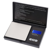 Wholesale Weigh Scales Digital - 650g 0.1g High Accuracy Mini Electronic Digital Pocket Scale Jewelry Weighing Balance Blue LCD g gn oz ozt ct t dwt H9631