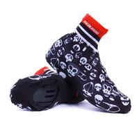 zapato de ciclo de carretera al por mayor-Hombres ciclismo deporte cubierta de calzado impermeable de invierno desgaste térmico Mountain Road Bike zapatos de bicicleta cubierta zapatillas de deporte al aire libre